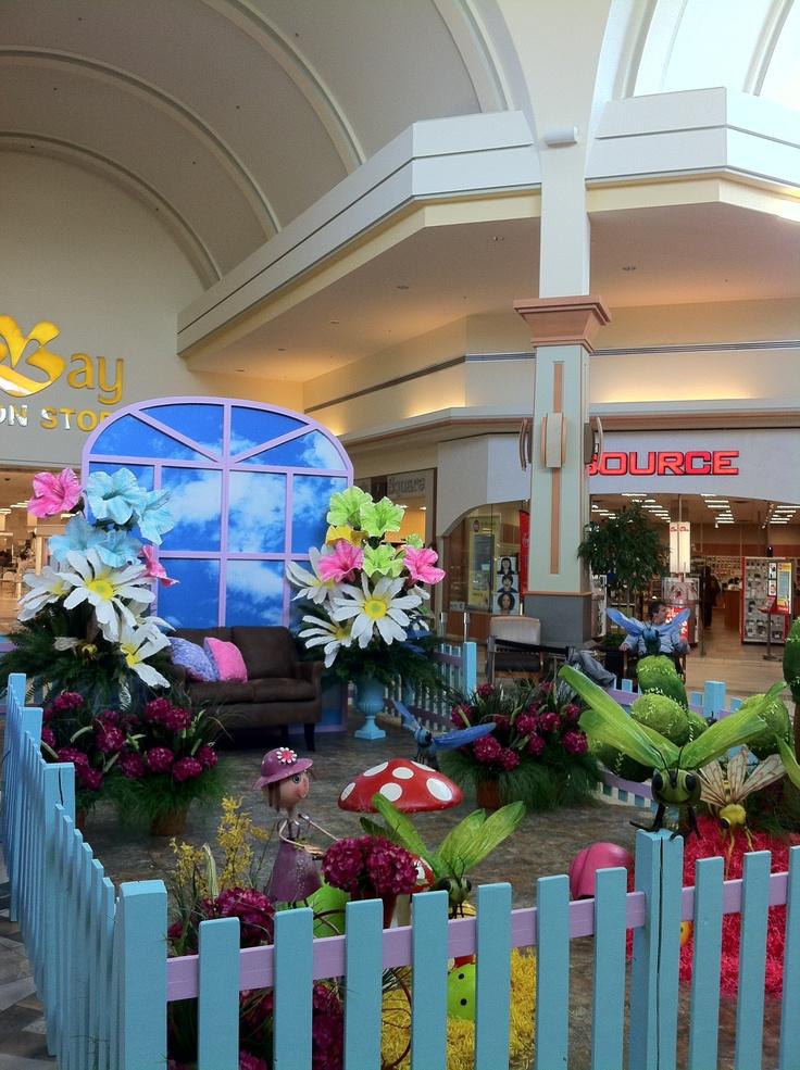 Easter Set at Hillcrest Mall, Richmond Hill.