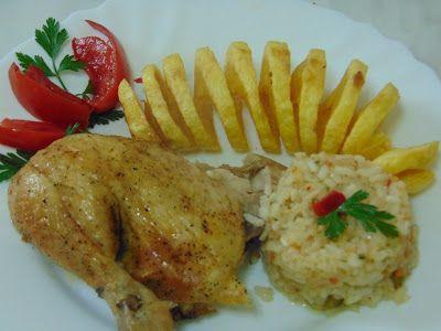 Rozi erdélyi,székely konyhája: Csirke sütőzacskóban sütve, spirál pityókával