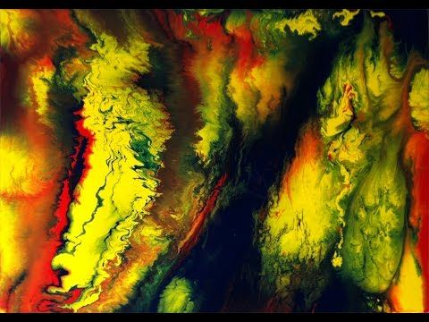 Abstrakte Malerei, Acrylmalerei, Weisheitsgeschichte, Abstract Acrylic Painting, Time Lapse - YouTube