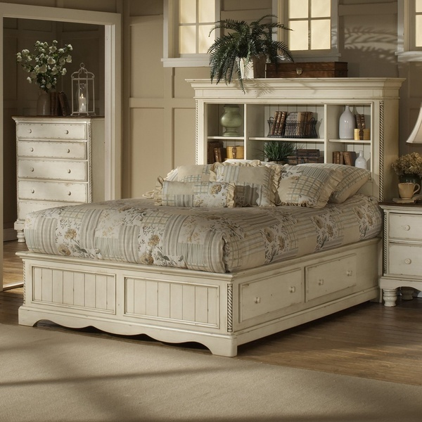 Hillsdale Furniture 1172 Wilshire Bookcase Storage Bed
