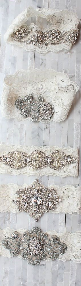 A lil bling for your garter :)