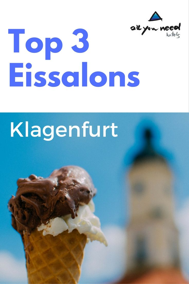 In Klagenfurt gibt es als Erfrischung nicht nur den Wörthersee, sondern auch leckeres Eis. Unsere Top 3 Eissalons in Klagenfurt https://www.allyouneedhotels.at/hotel-services/news/article/top-3-eissalons-klagenfurt/