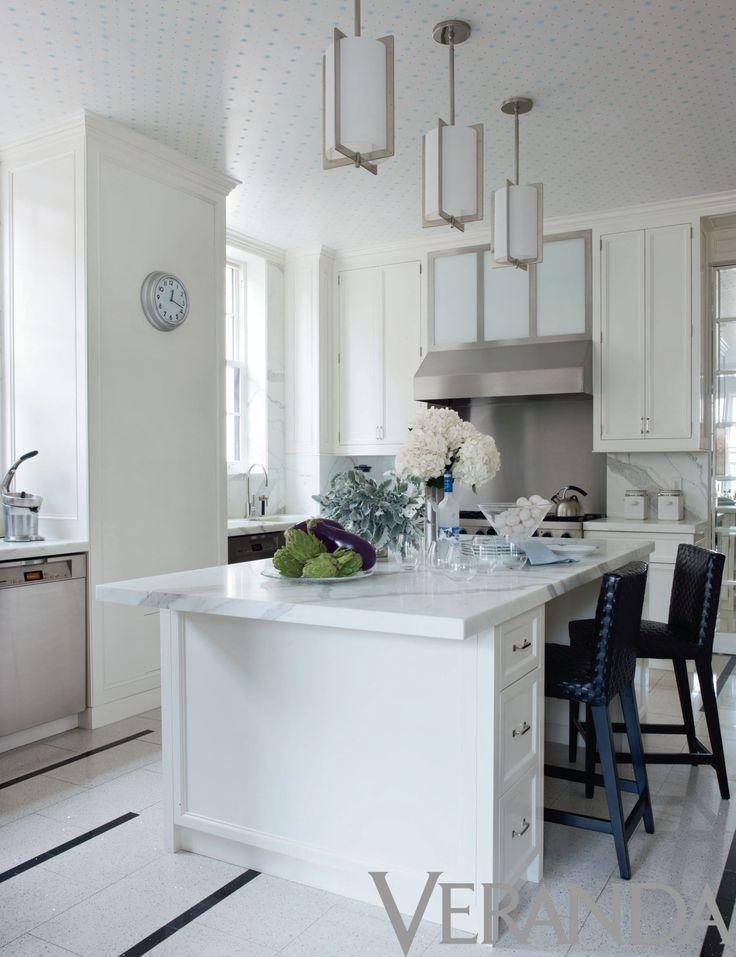 Veranda magazine kitchens marbles mag pinterest for Beautiful kitchen ideas
