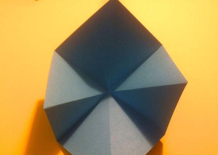 origami anleitung fisch aus papier basteln origami und basteln. Black Bedroom Furniture Sets. Home Design Ideas