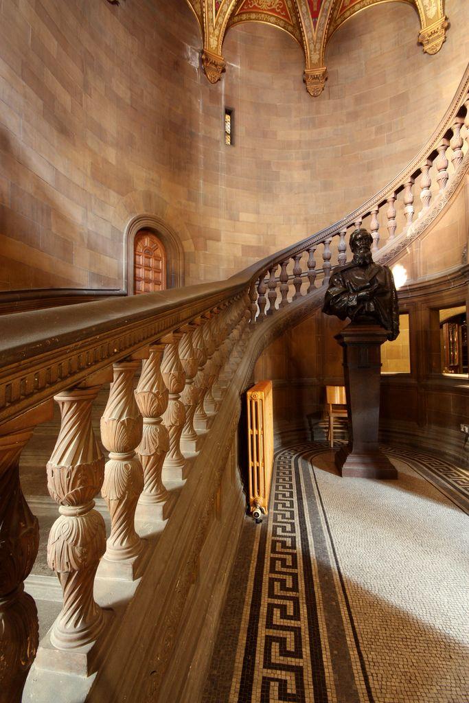 ❀ Grand Staircase, McEwan Hall, Teviot Place, University of Edinburgh.