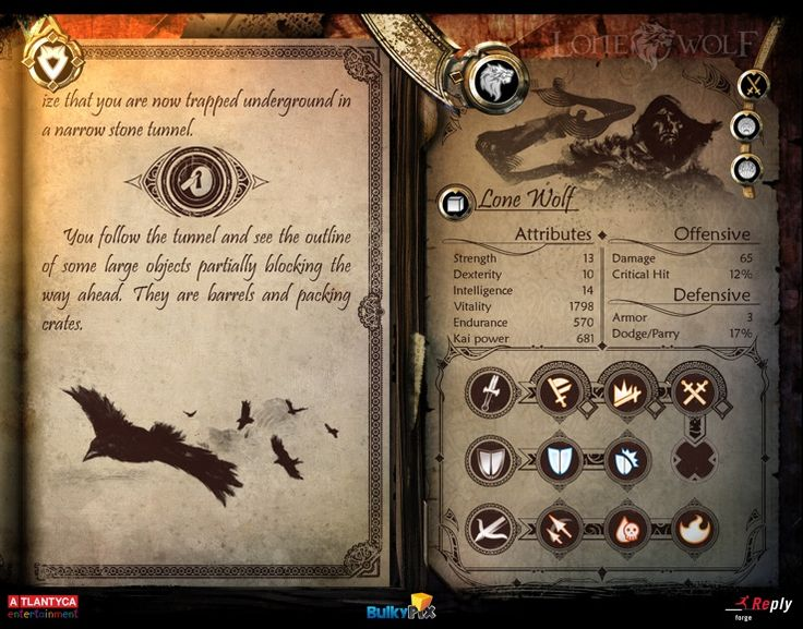 iPad Joe Dever's Lone Wolf® - (by Forge Reply) - Touch Arcade