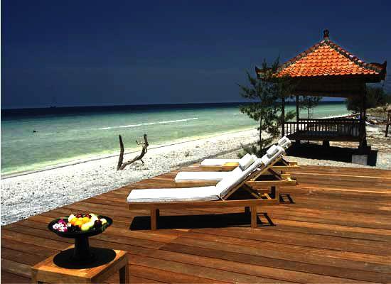 amazing honeymoon on gili trawangan lombok sun