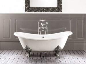 Obsessed with clawfoot tubs.