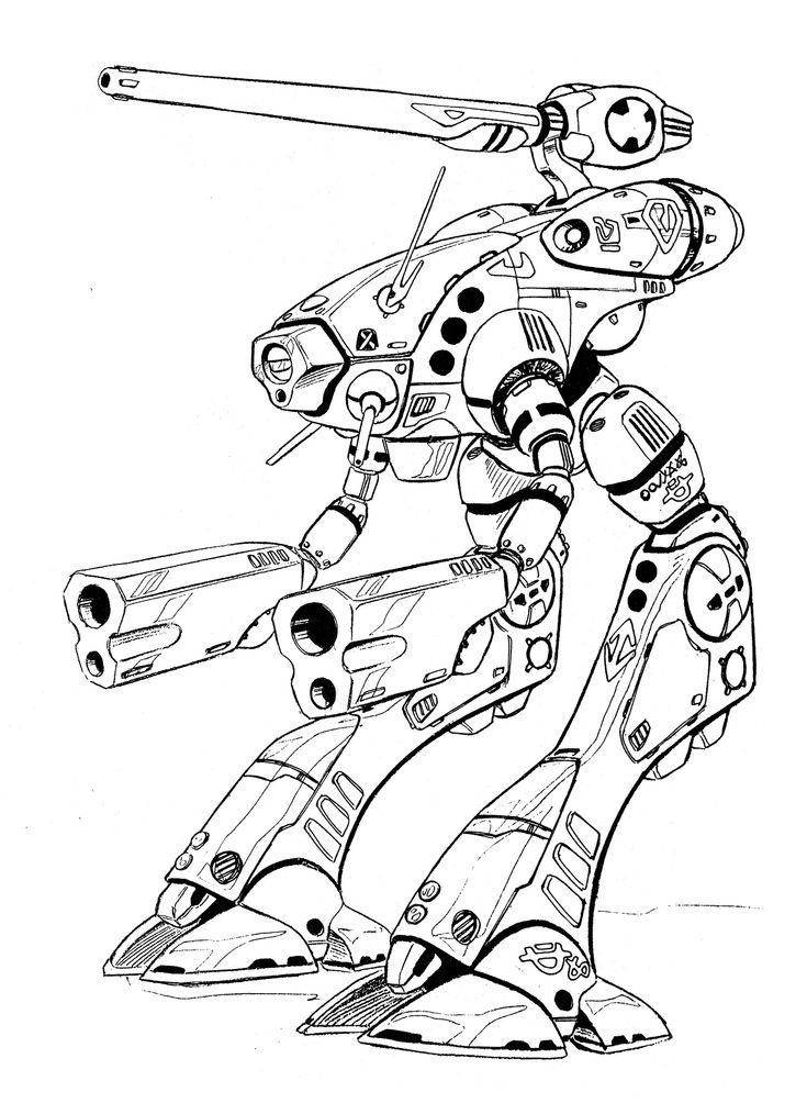 OP-3 Glaug Officer Pod All Environment Combat Robot 2