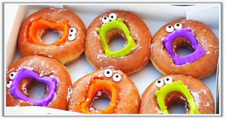 AHHHH! Ha Ha! Halloween party treats!
