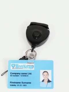 ReelStrap/Pauner Oy - A new, convenient way to carry your workplace ID card, mobile phone, digital camera, keys, memory stick, etc.
