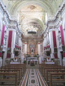 interno chiesa santi pietro e paolo vallio terme