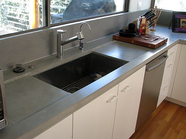 A Guide To Concrete Kitchen Countertops Remodeling 101: 101 Best Concrete Countertops Images On Pinterest