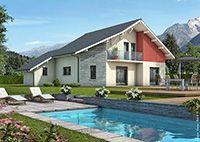 Maison moderne Mont Revard - Maisons Clair Logis