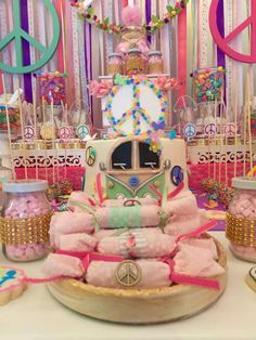 Hippie Chic Birthday Party Ideas | Photo 4 of 20 | Catch My Party