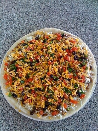 Papa Murphy's Copycat Restaurant Recipes: Taco Grande Pizza