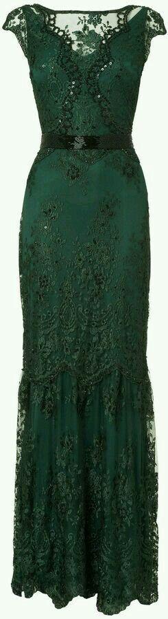 Green Posh Frock