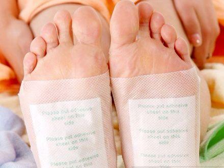 Nasional - Diskon - Buang Racun Di Tubuh Dengan Kinoki Cleansing Detox Foot Pad Hanya Rp 100.000/10box