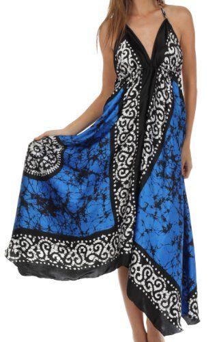 Sakkas 1022 Silky V-Neck Halter Handkerchief Hem Maxi Dress - Royal Blue - One Size Sakkas,http://www.amazon.com/dp/B00FTKAL78/ref=cm_sw_r_pi_dp_YgPytb0QH2M5Q1Y5