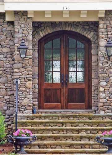 28 best doors by design wood doors images on pinterest for Front doors that let in light