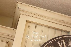 creating a french country kitchen cabinet finish using chalk paint, chalk paint, kitchen backsplash, kitchen cabinets, kitchen design, painting, It is a long process to achieve this look but to us well worth it