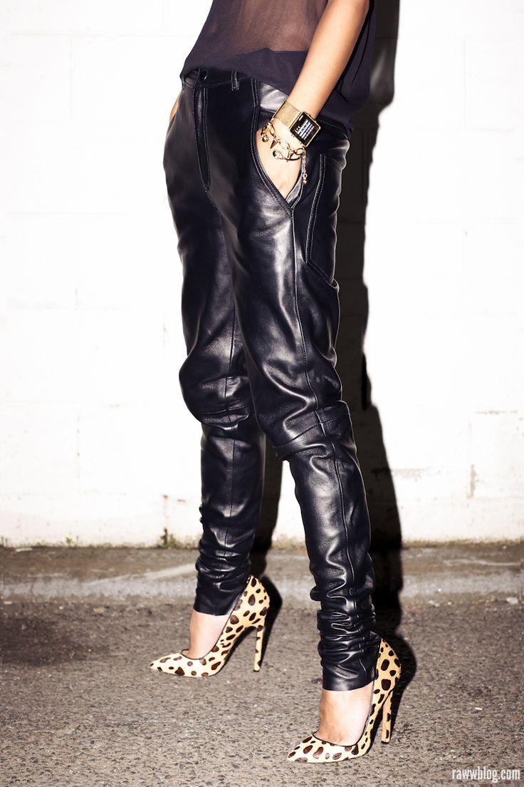 Leather boyfriends - yay or nay? #yay #newlookfashion #leather