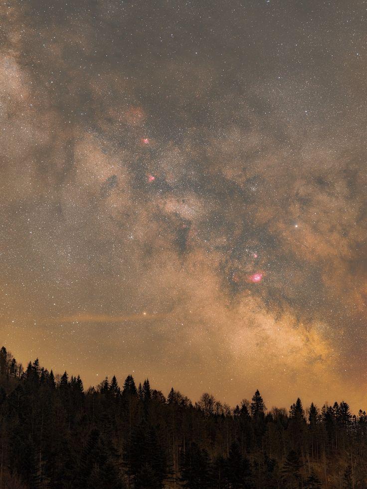 Galactic Center Before Dawn [1920x2560] [oc]