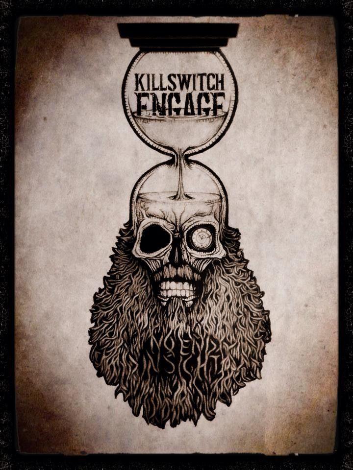 Killswitch Engage Artwork by Lisa Kosarko Sotero www.gruntleddesign.com