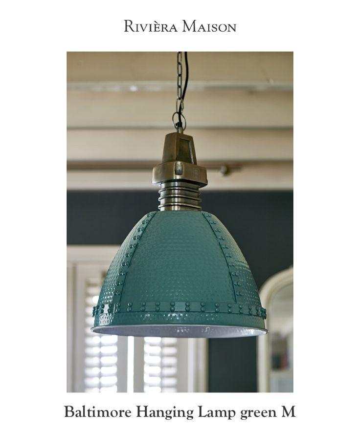 Schauen Sie sich dieses Produkt an, das ich mit Rivièra Maison app:  Baltimore Hanging Lamp green M https://rivieramaison.de/de/baltimore-hanging-lamp-green-m-351080.html gefunden habe