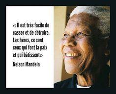 Famous Quotes, Citation Mandela, Citations Quotes, Mandela 3, Selon Nelson, ...
