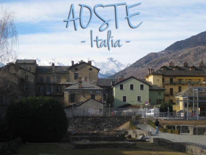 Aoste, Italie.  A découvrir sur le blog : http://saperlipopette.marine-landre.fr/voyages/visite-aoste-italie/