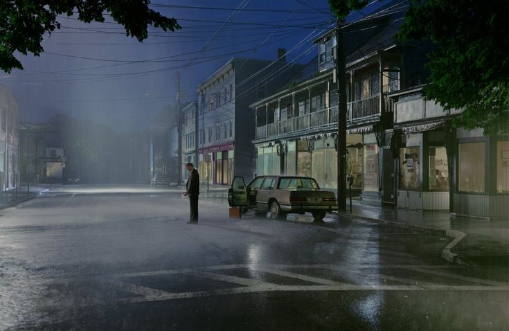 Love the beautifully uncanny work of Gregory Crewdson. Every picture is a magnificent story.