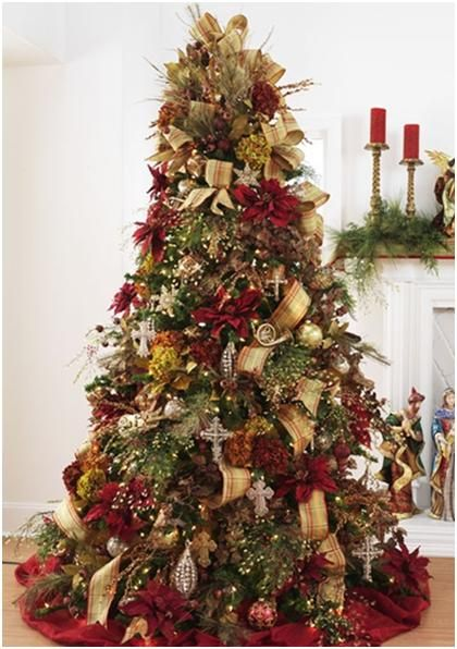 Christmas Tree Decorations Habitat : Best red and gold christmas images on