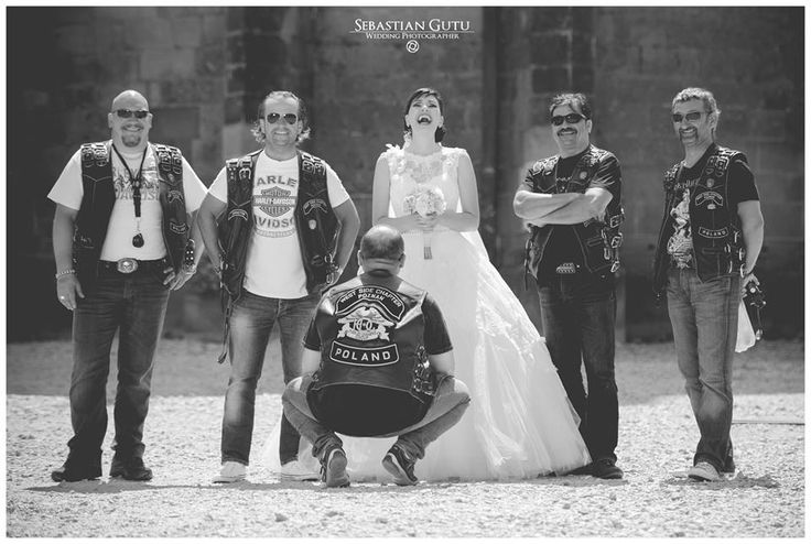 #Wedding #rock #motor bike