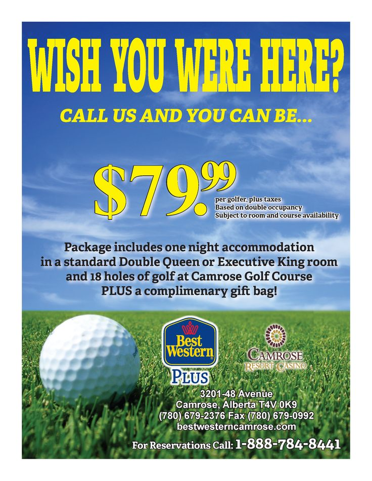 Stay and Golf packages
