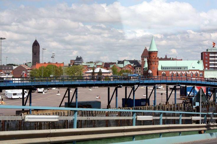 Was wir bisher kennen: Fährhafen in Trelleborg