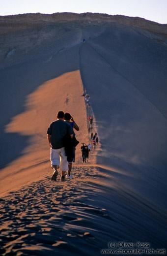 Valle de la luna, Chile :: ( I walked here)