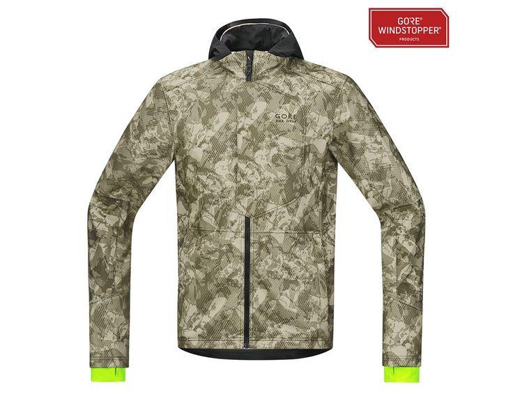 GORE Bike Wear ELEMENT Urban Print Windstopper® - Softshell Jacket | Softshell/Thermal Jacket Shop