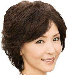 Amazon.co.jp: レディースウイッグ 中高年 女性 おしゃれかつら 高耐熱 ナチュラルブラウン おしゃれヘアー: 服&ファッション小物
