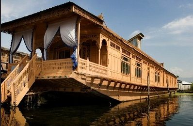 House Boat In Dal Lake, Kashmir.