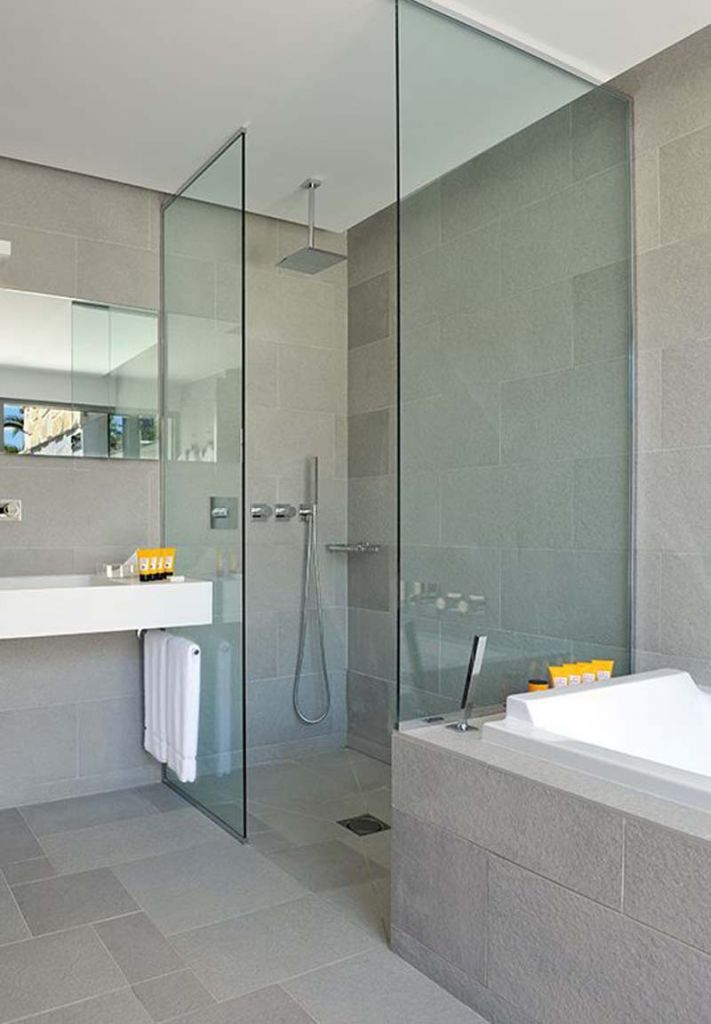 BATHROOM, Bathroom Design Gallery: Contemporary French Hotel Room Design By Christophe Pillet