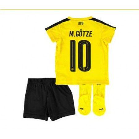 BVB Trøje Børn 16-17 #Mario Gotze 10 Hjemmebanetrøje Kort ærmer.199,62KR.shirtshopservice@gmail.com