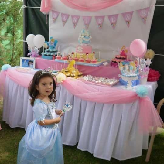 La princesa y su fiesta de cumpleaños