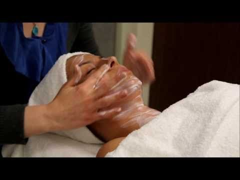 DIY Facial Massage for Lymphatic Drainage - YouTube