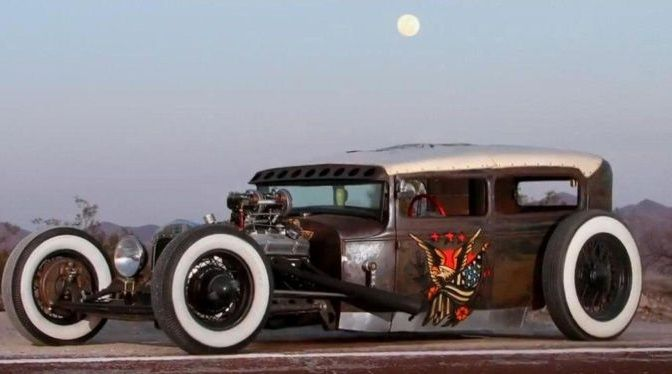SAILOR JERRY Rat rod ♤