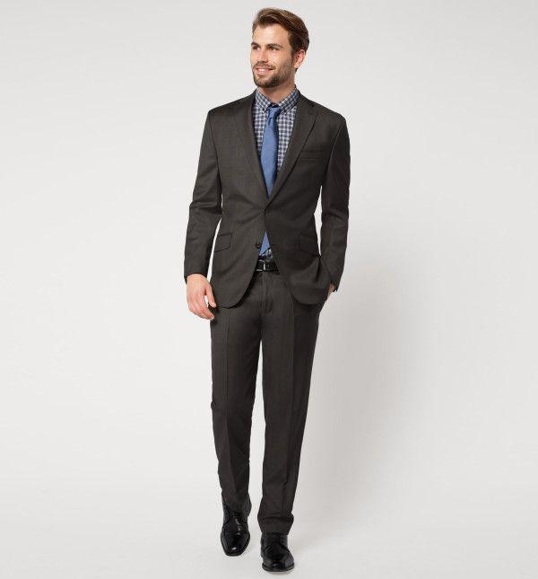 Americana traje gris hombre. Comprar americana traje gris moda caballero. Colección de prendas de la nueva temporada. Tienda online oficial Silbon.