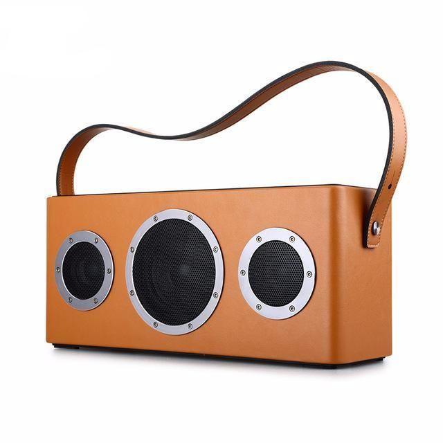 Portable Bluetooth HiFi Stereo Speaker - Orange - JackClass.com - $299.95
