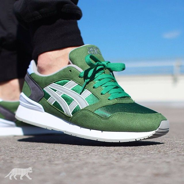 asics atlantis green