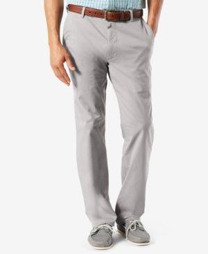 Dockers Men's Classic-Fit Pacific Wash Khaki Pants - Gray 32x30