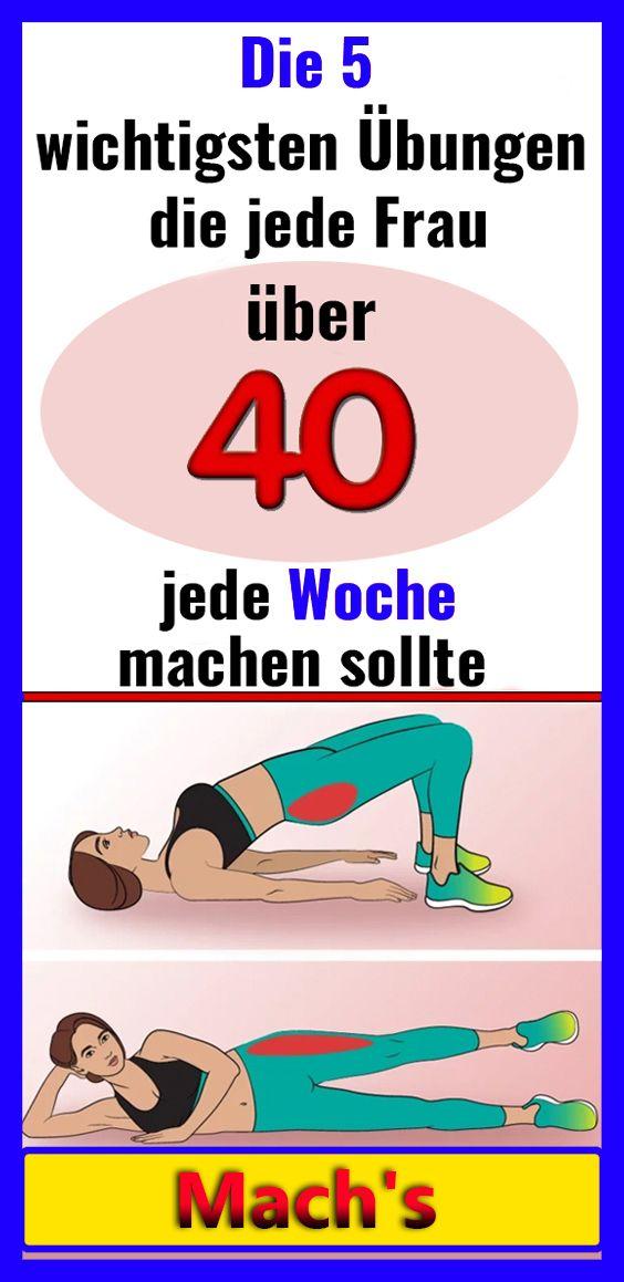 Die 5 wichtigsten Übungen, die jede Frau über 40 jede Woche machen sollte – Anna Blume